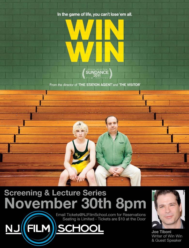Screening & Lecture Series Win Win Poster